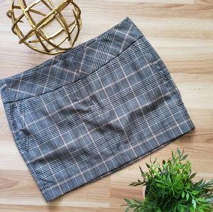 🎀EXPRESS Plaid Mini Skirt